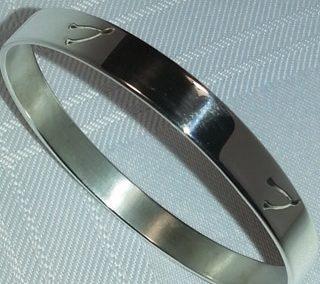 Stering silver wishbone bangle
