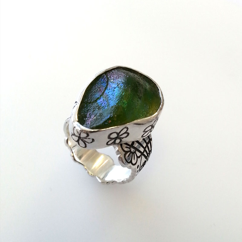 day-of-the-dead-ring-roman-glass