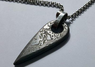 mens stainless steel pendant