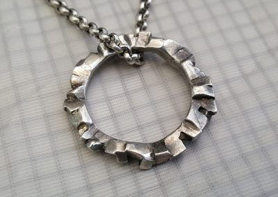 ring of substance pendant