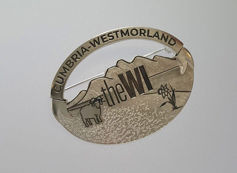 womens institute brooch commission